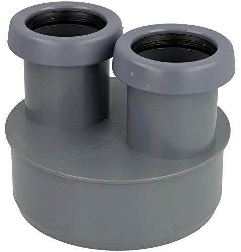 Airfit Abwasser-Reduzierstück für HT-und KG-Rohr DN110 x 40 x 40