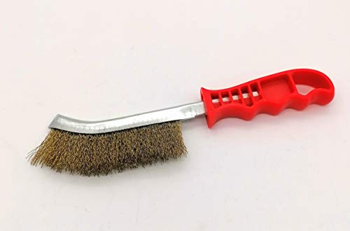 Brosse en acier brosse métallique avec poignée 260 mm en acier inoxydable Fil d'acier