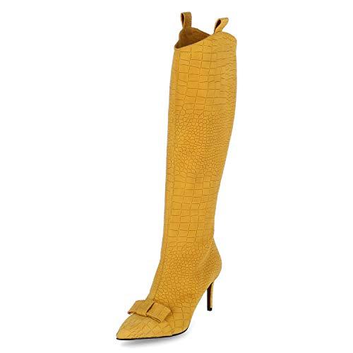 GIORGIO FABIANI Stiefel Größe 36 EU Gelb (Gelb)