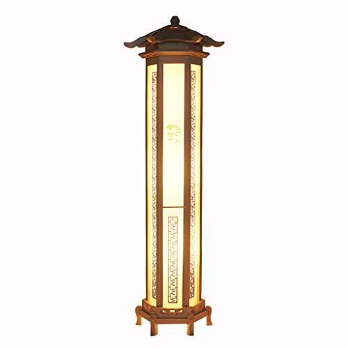 Lámpara de pie moderna lámpara de pie for la sala de estar Sala de Estudio del restaurante, lámpara estándar lámpara ahorro de energía E27 Protección for los ojos lámpara decorativa -30 * 120 CM Ahorr