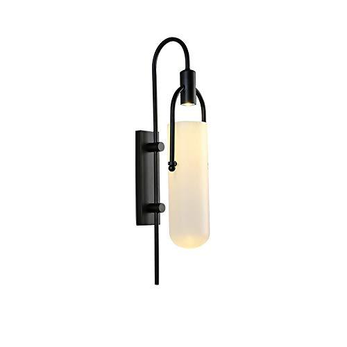 Applique murale postmoderne nordique minimaliste pour salon allée lampe de chambre à coucher créative loft décor LED fer appliques murales
