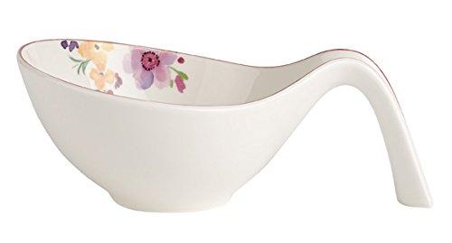 Villeroy & Boch Mariefleur Gifts Coupelle, Porcelaine Premium, Blanc/Multicolore