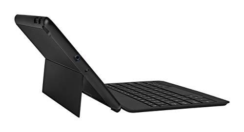 Galaxy Tab A 10.1 (2019) Wireless Bluetooth Keyboard Cover, Samsung, Black