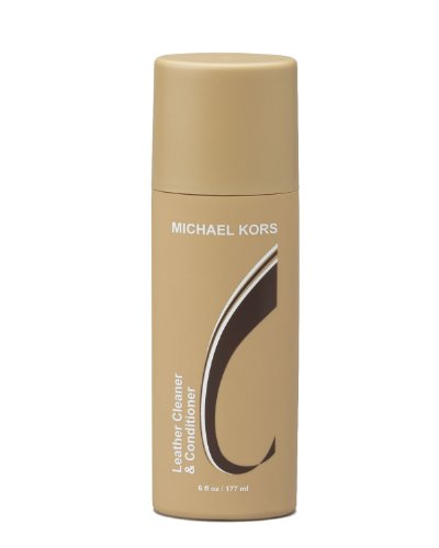 Michael Kors Leather Cleaner and Conditioner Protect your investment, specifically designed for Michael Kors Leather Works on all types of leather including python embossed and vynil Safe to use on all Michael Kors Handbags, Wallets, Shoes, and more