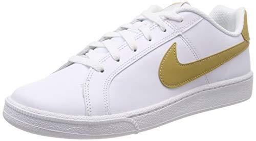 Nike Court Royale, Zapatillas de Gimnasia Hombre, Blanco (White/Club Gold 106), 49.5 EU