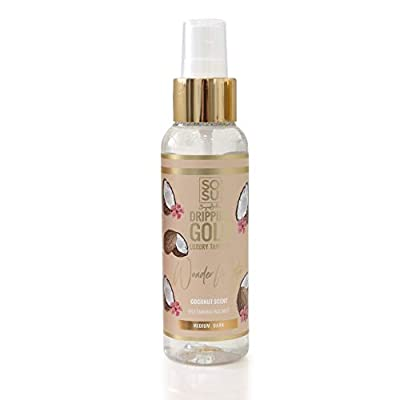 SoSu By SJ Dripping Gold Coconut Scent Wonder Water Medium/Dark Self-Tanning Facial Mist from Sosu By Suzanne Jackson