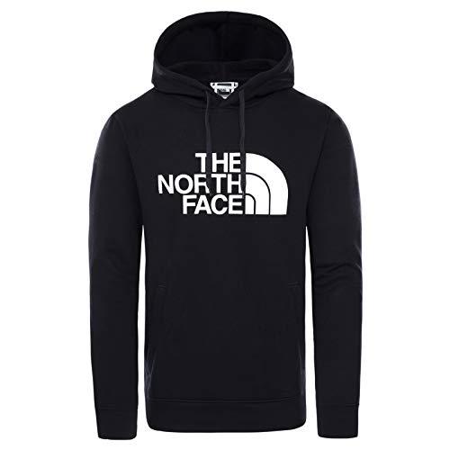 The North Face - Pullover con Cappuccio Half Dome Uomo - Nero, L