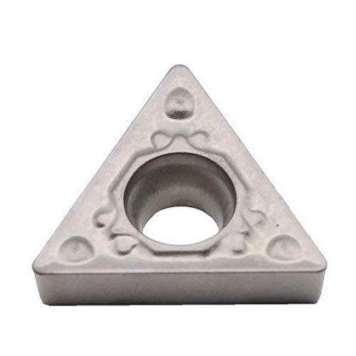 Maifix 10 Stück TCMT090202-HQ ZN60 Werkzeugspitzen für die Stahlbearbeitung CNC-Drehmaschinen-Drehwerkzeughalter Austauschbare Hartmetallplatten aus Hartmetall