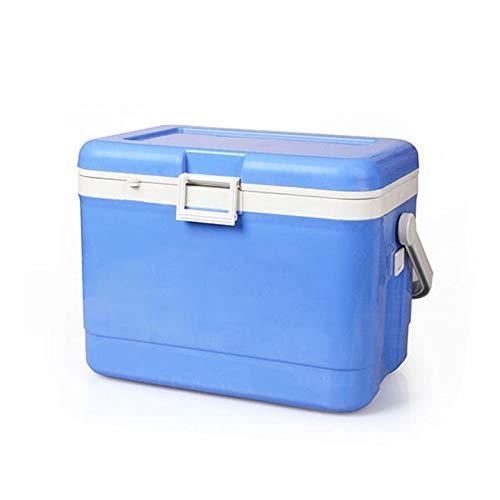 HO-TBO Koeler Picknick Tas, Hete Of Koude Koele Doos Blauw 17 Liter Capaciteit - Voor Camping Caravans Picnics Koelkast Voedsel Koelkast Draagbare Outdoor Tafelgerei & Picnicware