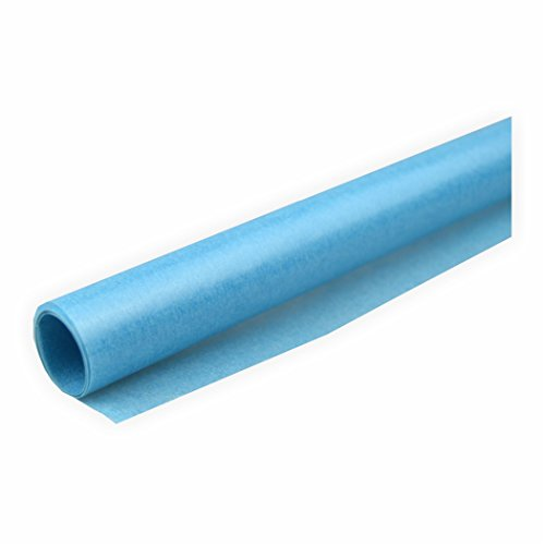 Transparentpapier 42g/m² 1 Rolle hellblau 70x100cm Drachenpapier
