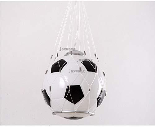5151BuyWorld hanglamp voor voetbal, hoge kwaliteit, creatief licht, voor kinderkamer, balkon, afval, LED-lampen voor slaapkamer, keuken, avondeten