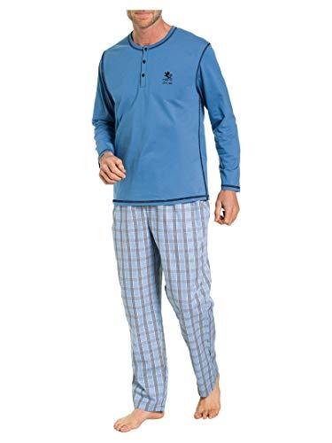 OTTO KERN 88883922 Pyjama 2er Pack stahlblau 48