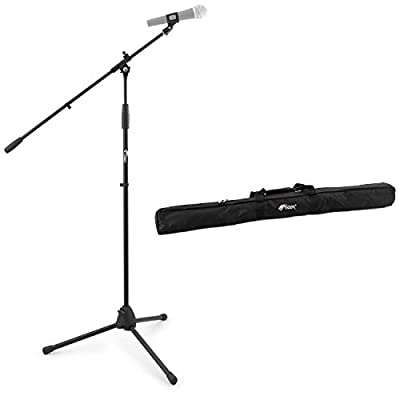 Tiger Boom Microphone Stand with Tripod Base and Gig Bag