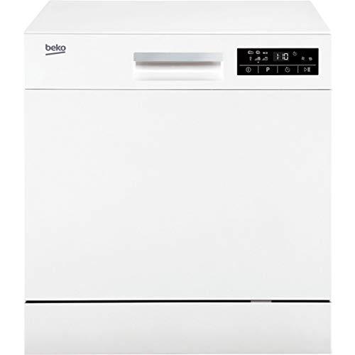 Beko DTC36810W Encimera 8cubiertos A+ lavavajilla - Lavavajillas (Encimera, Blanco, Compacto, Estáti
