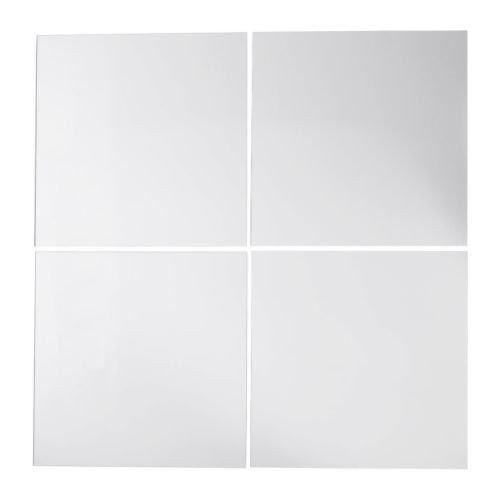 IKEA Lots - Juego de 4 Espejos (30 x 30 cm)