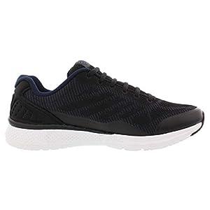 Fila Men's Memory Foam Athletic Running Shoes (11, Navy/Black)
