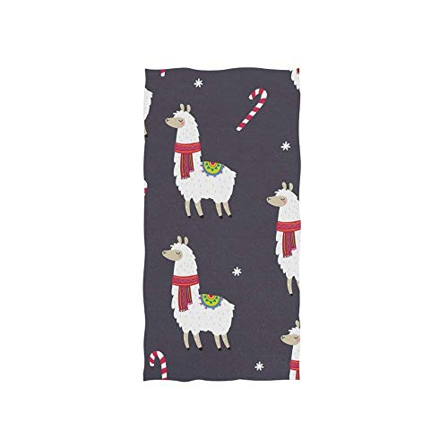 Cartoon Alpaca Toallas Baño Customed Toalla De Piscina Uso Diario Toallas De Baño Durable Toalla De Playa