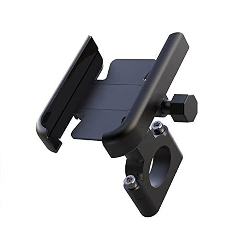 WYYUE Titular del TeléFono De La Bicicleta con La FuncióN De RotacióN De 360 °, La Luz con tinua MecáNica para TeléFonos De 4-7 Pulgadas