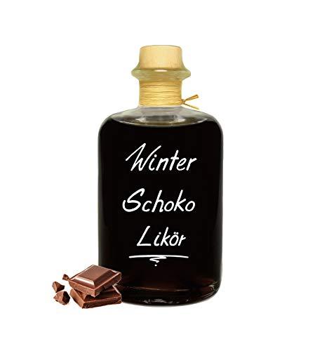 Winter Schokolade Likör 1 L Unsere flüssige Schoko Praline 18% Vol.