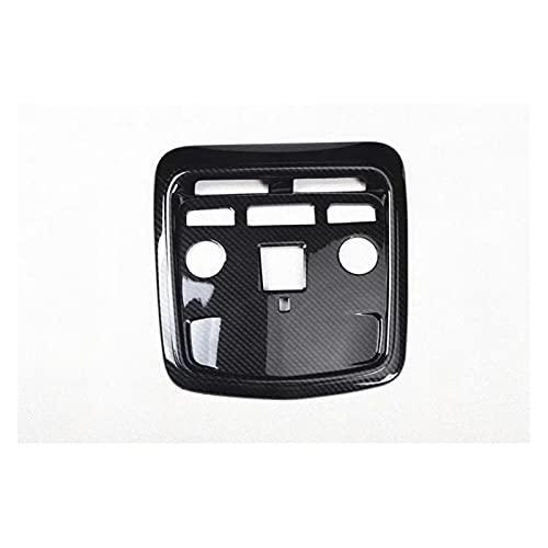 para C-adillac para ATSL 2014-2017 1 Pieza De Fibra De Carbono ABS Techo Interior del Coche Lámpara De Techo Cubierta De Luz De Lectura Molduras Molduras Interiores