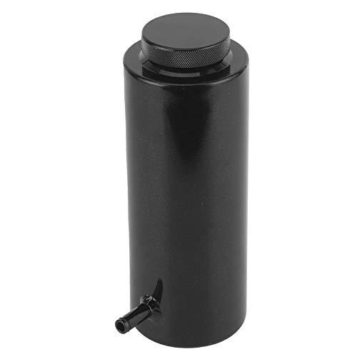 Depósito de aceite refrigerante de radiador de 3x7,5 pulgadas puede desbordamiento botella de tanque depósito de expansión de aleación de aluminio tanque de captura Universal 800 ml / 27 oz(ne