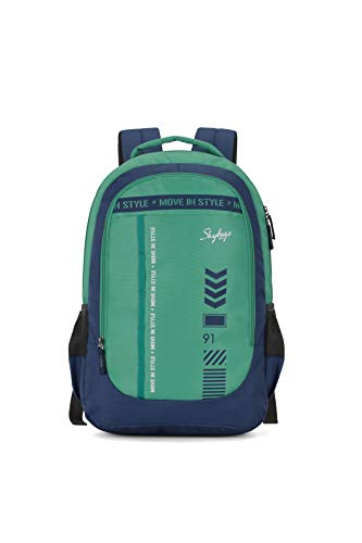 Skybags Beatle 02 27 Ltrs Green-Blue Casual...