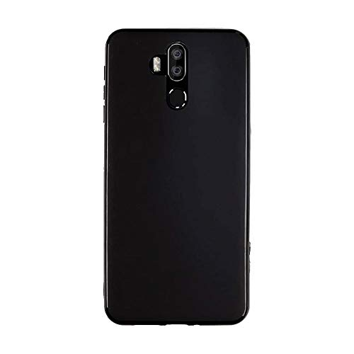 FLYME for Oukitel K9 Case, Flexible Scratch Resistant Non-Slip Shockproof Cover Soft TPU Rubber Slim Fit Case,Black