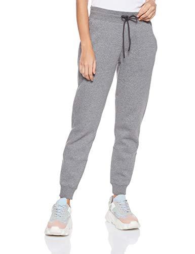 Under Armour Rival Fleece Solids Pantalon Femme Gris FR : S (Taille Fabricant : SM)