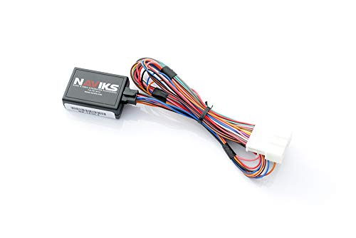 NAViKS Motion Lockout Bypass Compatible with 2014-2019 Infiniti Q50 Nav, DVD, Video Input in Motion Vim TV Free NVIM DVD