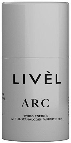 Livèl Arc Anti Rough Crème, hydro energie met huidanaloge werkzame stoffen, veganistische formule voor ruwe en geïrriteerde droge huid, 50 ml