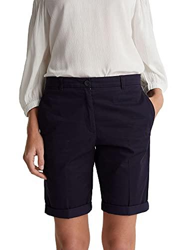 ESPRIT Damen 030EE1C306 Shorts, 400/NAVY, 36
