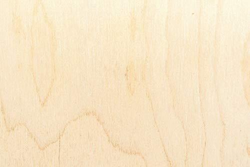8mm Sperrholzplatten 19€/qm Multiplexplatten Sperrholz Bastelholz Laubsägearbeiten Möbelbau Modellbau Leichtbau Innenausbau (30 x 30 cm)