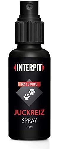 Interpit Juckreiz Spray für Haustiere, Naturprodukt & HOCHWIRKSAM bei Juckreiz oder Entzündungen - Pflegt Haut & Fell bei Läuse, Flöhe oder Milben, acuh Grasmilben bei Katze & Hund