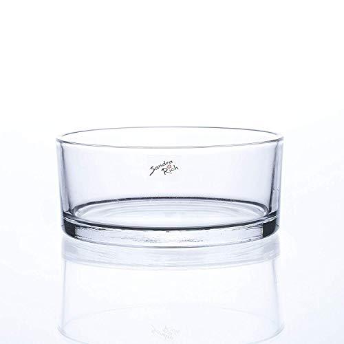 Glasschale Cylinder ø 19, h 8 cm