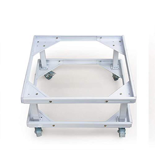 FACAZ Soporte Universal de Doble Capa con división de Base para Lavadora y Secadora - Blanco