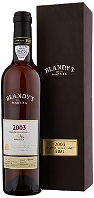 Blandys 2003 Colheita Bual Madeira Wine, 50 cl