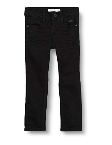 NAME IT Jungen Nkmtheo Dnmclas 7227 Pant Noos Hose, Schwarz (Black Denim Black Denim), (Herstellergröße:152)