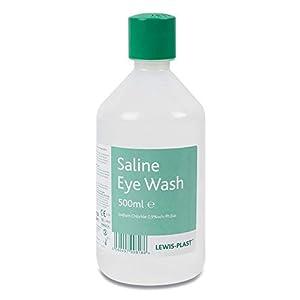 Lewis-Plast Saline Eye Wash, 500 ml