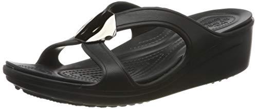 crocs 205599, open sandalen met sleehak dames 42/43 EU