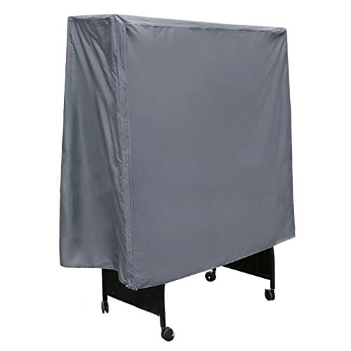 Beschermhoes voor tafeltennistafel, 210D Oxford tafelkleed Waterdicht Pingpong Stofdicht Sunproof, 152 × 52 × 144 cm