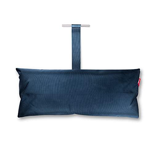 Fatboy® Headdemock Pillow blau | Hängematten-Kissen | Gemütliches Polyester Hängematten-Kissen | 70 x 30 x 13 cm
