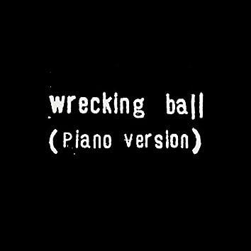 Wrecking ball (Solo Piano Version)