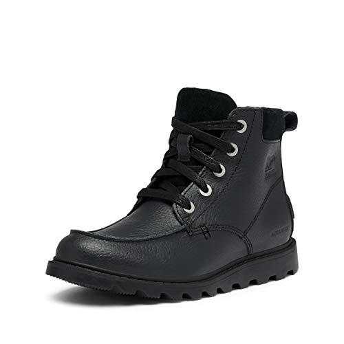 Sorel Jungen Youth Madson Moc Toe Waterproof Wasserdichter Schuh, schwarz, Größe: 32