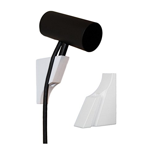 3d Lasers Lab Oculus Rift Sensor Wall Mount, Command Strip (Wall Tape) Included (3 Pack, White)