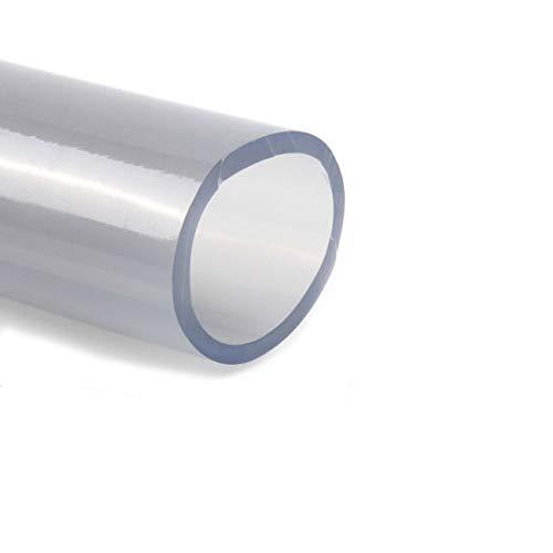 PVC Schlauch transparent 40x50mm | PVC Schläuche tranparent | Schläuche | Meterware