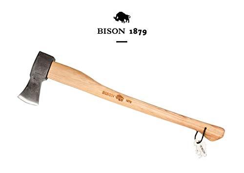 Bison 2200g Spaltaxt 1879 2200g-HY 800mm, Natur