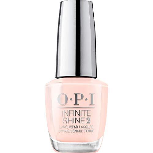 OPI Infinite Shine 2 Long-Wear Lacquer, Bubble Bath, Nude Long-Lasting Nail Polish, 0.5 fl oz