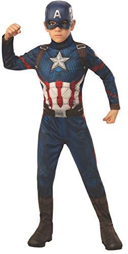 Rubie's 700647_M, costume ufficiale Avengers Endgame Capitan America, per bambini, taglia M, età 5-7 anni, altezza 132 cm