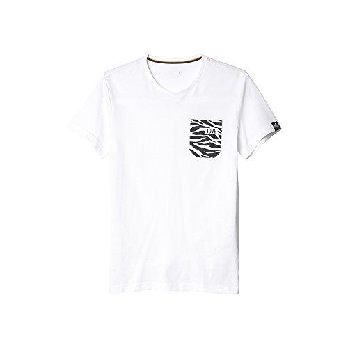 adidas Juventus Gr tee Bet Camiseta, Hombre, Blanco (Blanco), XL