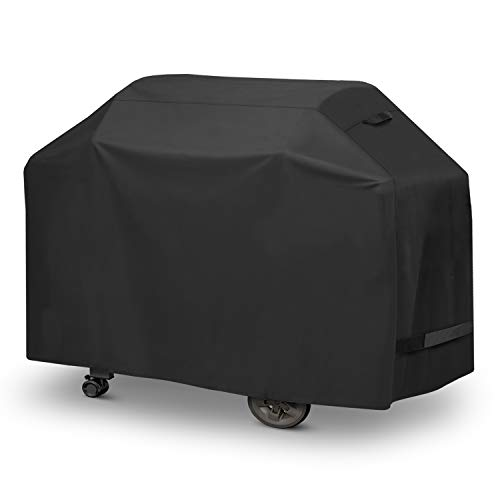 Arcedo Grill Cover, 64 Inch Heavy Duty Waterproof BBQ Cover, All Weather Resistant, Outdoor 4-6 Burner Gas Propane Grill Cover Fits Weber Char-Broil Nexgrill Napoleon and More Grills